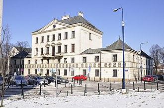 """Załuski Library - Załuski Library's original home:  now """"House of the Kings"""" (dom Pod Królami), Warsaw"""