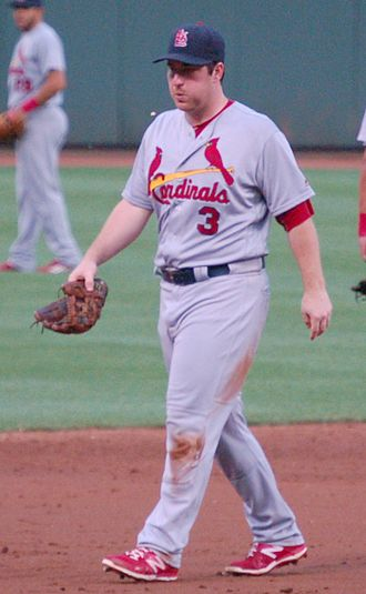 Jedd Gyorko - Gyorko playing for the St. Louis Cardinals in 2016
