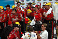 Dale Earnhardt Jr and team in the winners circle photo D Ramey Logan.jpg