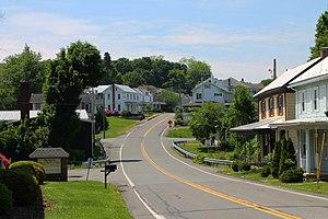 Dalmatia, Pennsylvania - Pennsylvania Route 147 in Dalmatia