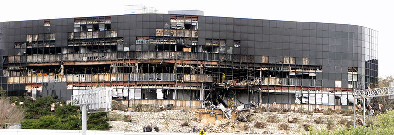 File:Damage to Echelon complex from 2010 plane crash.jpg
