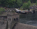 Dambuster Lancaster Soars Again Over the Derwent Valley Dam MOD 45147542.jpg