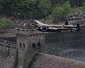 Dambuster Lancaster Soars Again Over the Derwent Valley Dam MOD 45147542.jpg
