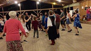 Pinewoods Dance Camp - Image: Dance at C sharp 2015.agr