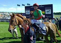Dancing Rain at Epsom Oaks in 2011.jpg