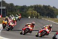 Dani Pedrosa leads the group 2014 Le Mans.jpeg