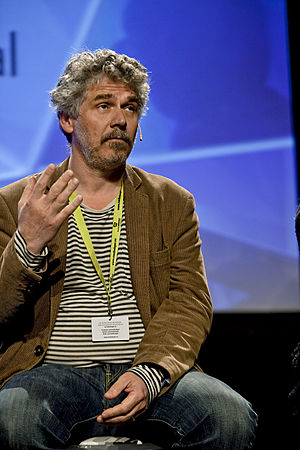 Daniel Alfredson - Alfredson at The Nordic Media Festival, Bergen, May 2011.