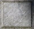 Daniel Heinrich Delius Grabmal Inschrift.jpg
