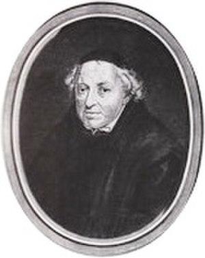 Daniel Papebroch - An image of Daniel Papebroch, S.J. (1680)