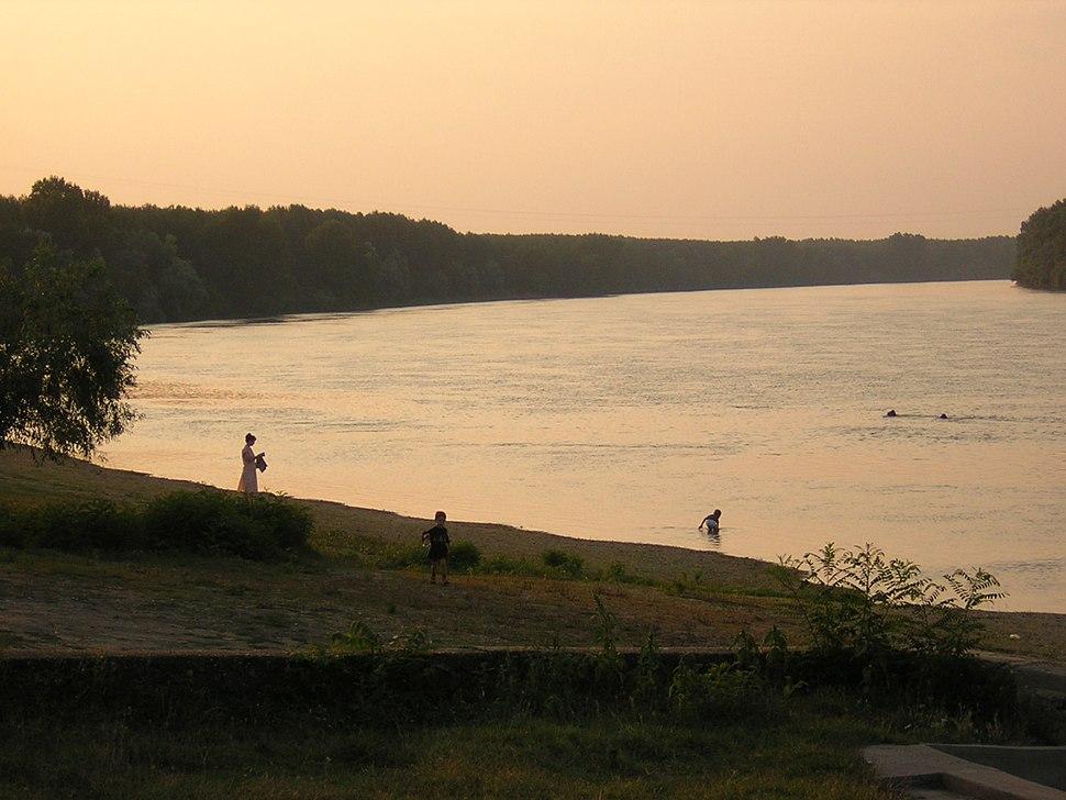 Danube at belene