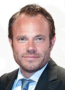 David Hellenius på Krystallen-gallaen 2013.