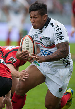 David Smith - US Oyonnax - Rugby club toulonnais, 28th September 2013