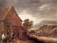 David Teniers (II) - Before the Inn - WGA22085.jpg