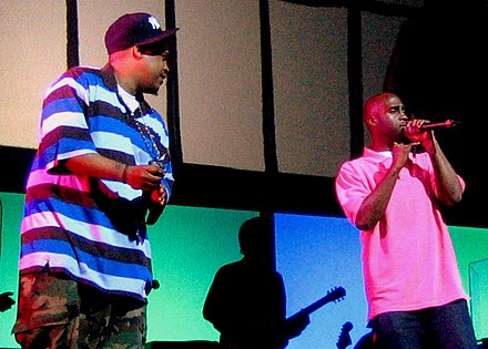 De La Soul at Demon Days Live in 2005 De La Soul Demon Days Live crop.jpg