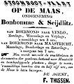 De Roermondenaar vol 001 no 003 advertisement Stoomboot-vaart op de Maas.jpg