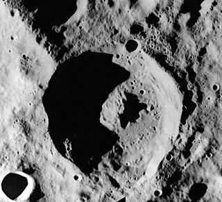 De Vries (crater) lunar crater