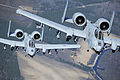 Defense.gov News Photo 100316-F-5271W-148 - Two A-10C Thunderbolt II aircraft fly in formation during a training exercise at Moody Air Force Ga. on March 16 2010. Members of the 74th.jpg