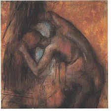 Degas - Frau sich die Haare kämmend 001.jpg