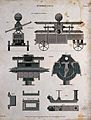 Depictions of a hydraulic system for a Rowntrees fire engine Wellcome V0039395.jpg