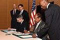 Deputy Secretary Blinken Looks on as an Agreement is Signed to Establish Djibouti's First American Curriculum, English Language School (24826918851).jpg