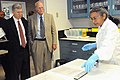 Deputy Secretary Poneman and Bill Brinkman visit the New Brunswick Laboratory (4948073187).jpg