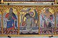 Detall de la predel·la del retaule de sant Jeroni, Jaume Mateu, museu catedralici de Sogorb.JPG