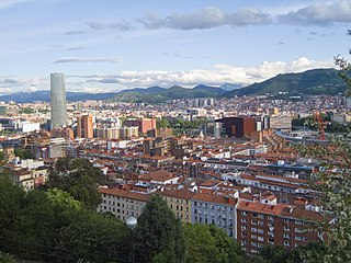 Deusto District in Basque Country, Spain