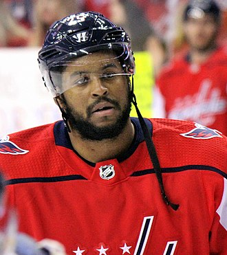 Devante Smith-Pelly - Smith-Pelly with the Capitals in 2018