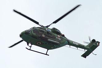 Hindustan Aeronautics Limited - HAL Dhruv of the Indian Army