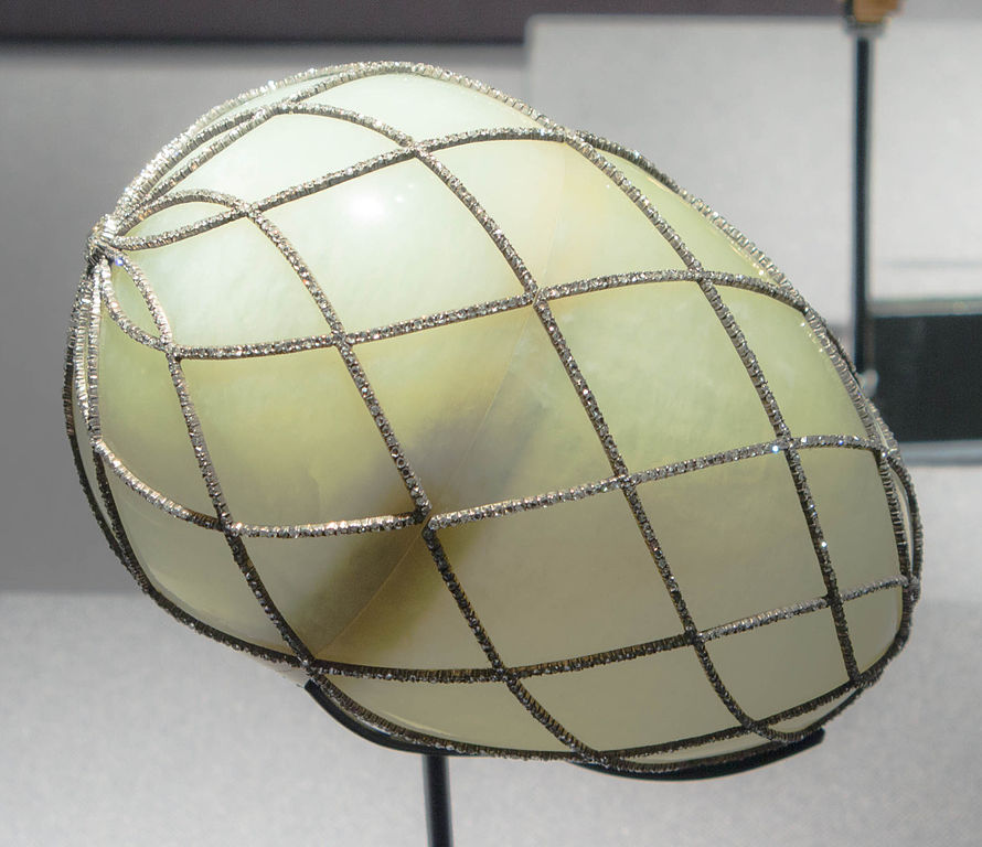 File Diamond Trellis Egg Jpg Wikimedia Commons
