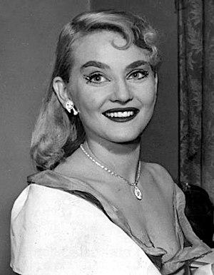 Diane Cilento - Cilento in 1954