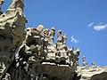 Differentially cemented & eroded sandstone (member C, Uinta Formation, Eocene; Fantasy Canyon, Utah, USA) 36 (24216325514).jpg