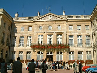 Côte-d'Or - Prefecture building of the Côte-d'Or department, in Dijon