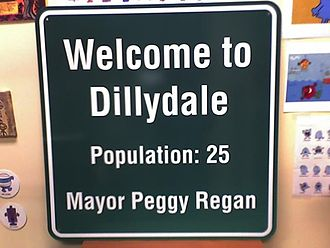 The Mr. Men Show - The Dillydale city sign