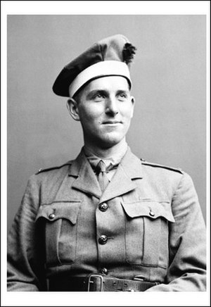 Thomas Dinesen - Dinesen in the uniform of the Black Watch of Canada