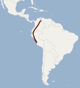 Distribution of Sturnira bogotensis.png