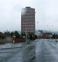 Divis tower falls road belfast