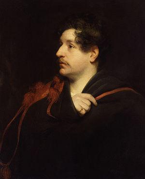 Dixon Denham - An 1826 portrait of Dixon Denham by Thomas Phillips