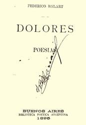 Federico Balart: Dolores