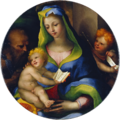 Domenico Beccafumi - The Holy Family with Young Saint John - WGA1543.png