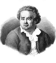 Domenico Cimarosa in un'incisione di Luigi Bridi.