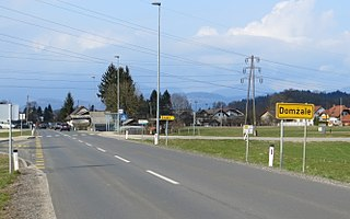 Domžale Town in Upper Carniola, Slovenia