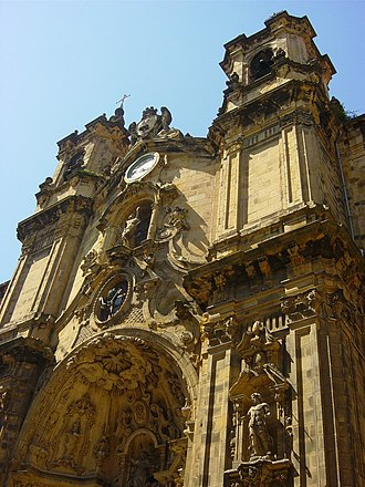Basilica of Saint Mary of the Chorus - Image: Donostia Santa María