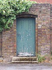 Doorway to Park House, RAF Uxbridge