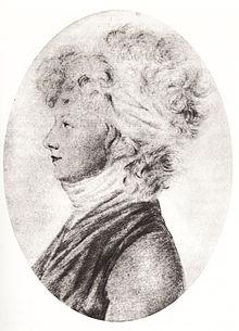 Julie von Charpentier (Silberstiftzeichnung von Dora Stock) (Quelle: Wikimedia)