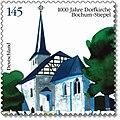 Dorfkirche Bochum-Stiepel Briefmarke 2008.jpg