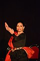 Dorothy Bhattacharya Dancing With Rabindra Sangeet - Sriniketan - Birbhum - 2017-10-21 5123.JPG