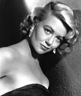 Publiciteitsfoto van Dorothy Malone in Written on the Wind (1956)