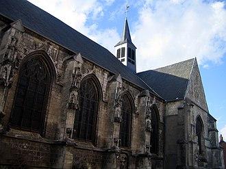 Doullens - Image: Doullens église Notre Dame 1
