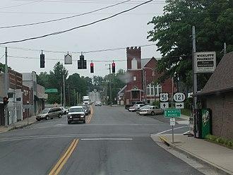 Wickliffe, Kentucky - Downtown Wickliffe, KY
